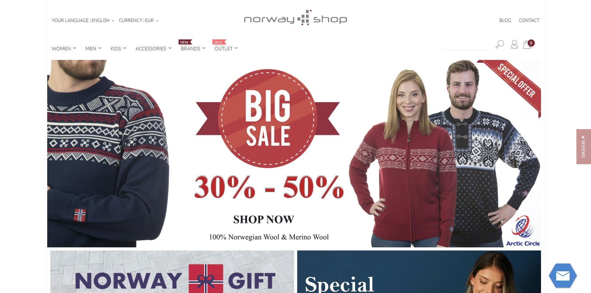 Sklep internetowy NorwayShop